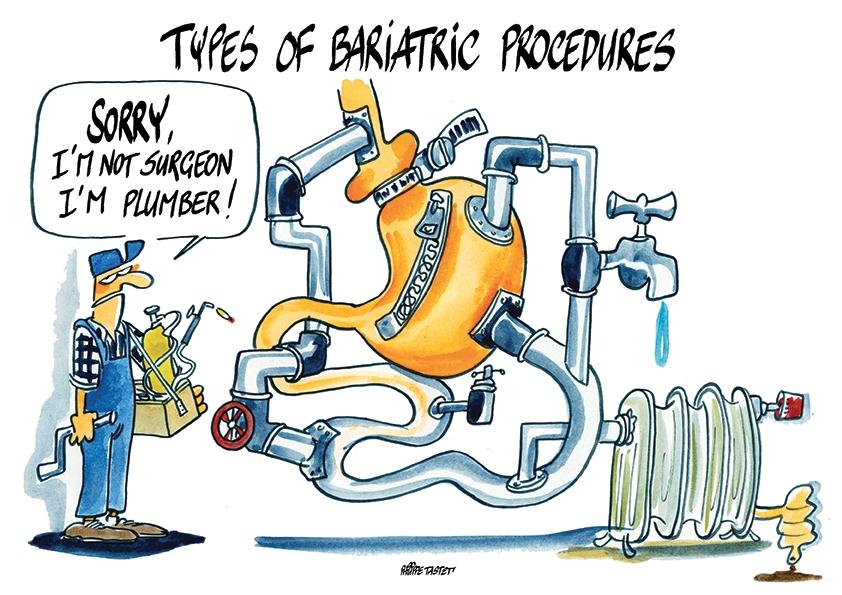 image dessin de congrès chirurgie de l'obésité
