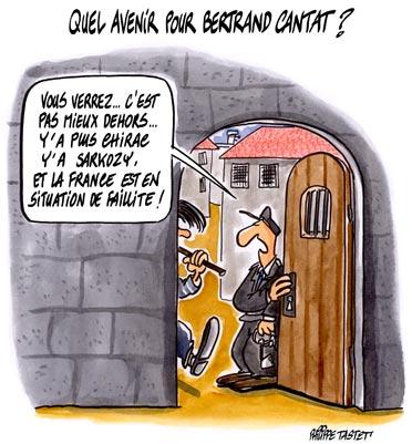 dessin : Quel avenir pour Bertrand Cantat ?