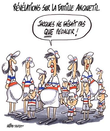 dessin : Révélations sur la famille Anquetil