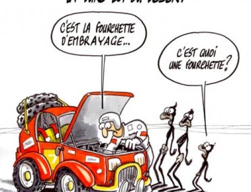 Paris-Dakar la dure loi du désert