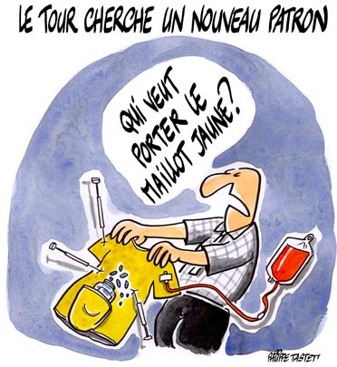 dessin : Le Tour de France cherche un nouveau patron