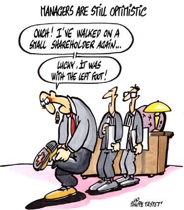 cartoon press managers are still optimistics