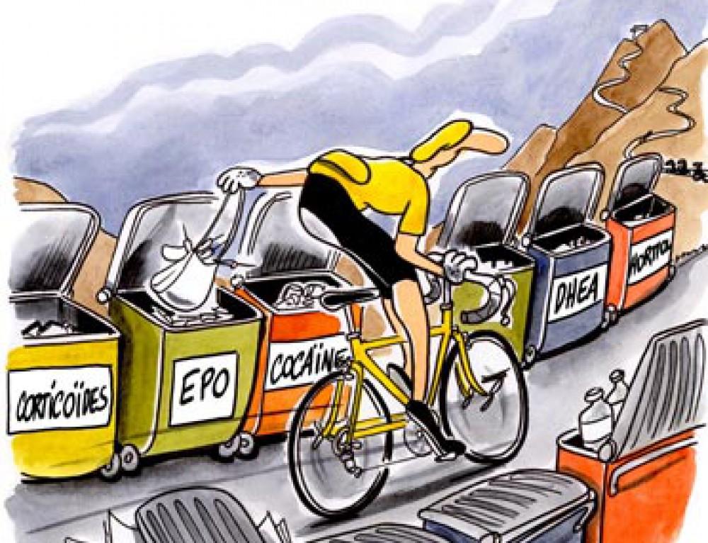 Le Tour de France encourage le tri des déchets