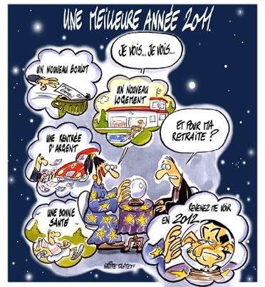 dessin : Une meilleure année 2011