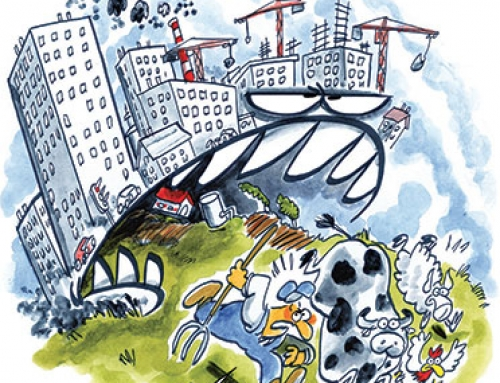 Quand les villes grignotent la campagne