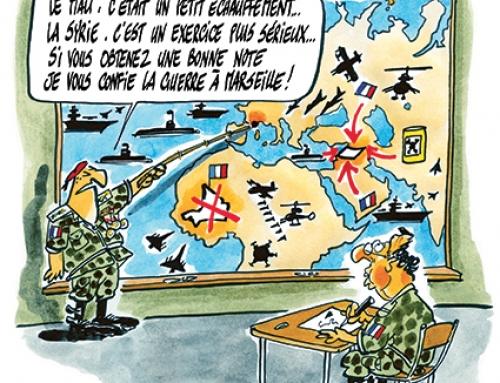 Hollande à l'école de la paix dans le monde