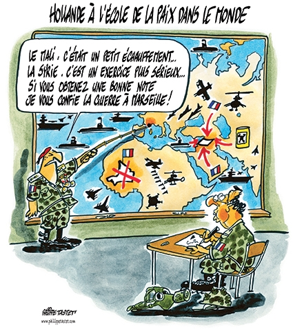dessin de presse guerre syrie