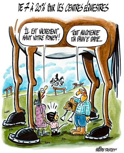 TVA sur les centres équestres