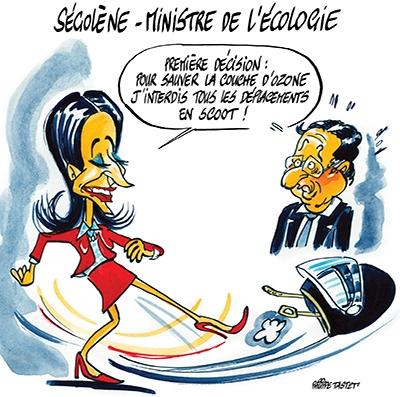 Ségolène Royal est nommée Ministre de l'écologie