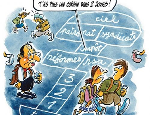 C'est aussi la rentrée pour François Hollande