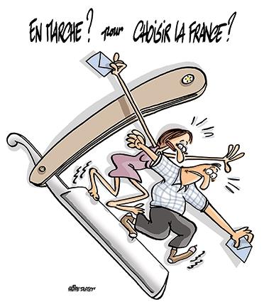 Le dessin du jour (humour en images) - Page 6 En-marche-pour-choisir-la-france-vig