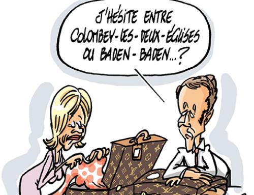 Où sera Macron samedi prochain ?