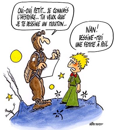 Le petit prince par Philippe TAstet