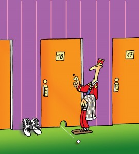 Golf : rat hotel