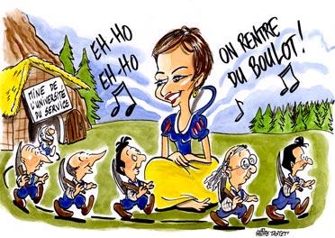 Congrès SNCF : Mireille Faugere