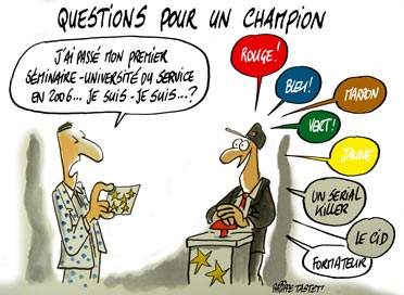 congrès SNCF : Questions pour un champion