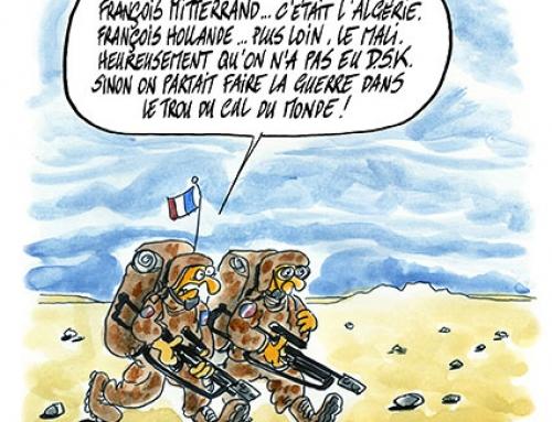 Guerre au Mali, les troupes françaises en marche…