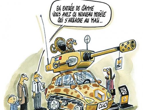 Mali : rien ne vaut une bonne guerre pour relancer l'économie et sauver les emplois.