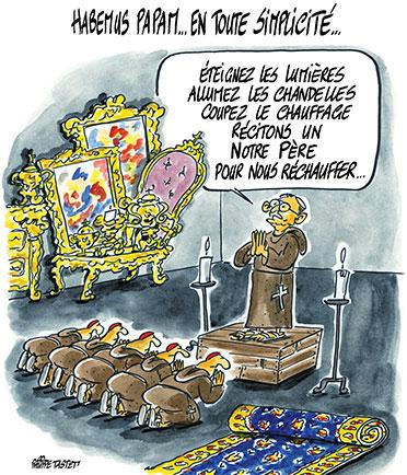 Habemus Papam, la simplicité du pape François bouscule le Vatican