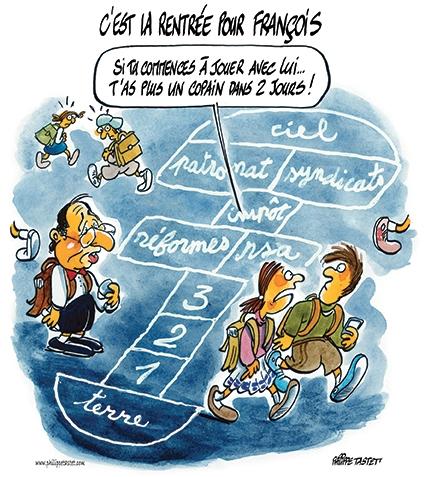 Rentrée scolaire 2014 - François Hollande - Najat Vallaud Belkacem