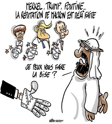 La réputation de Macron est déjà faite