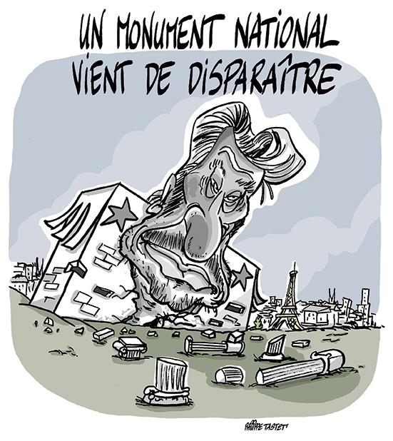 Un Monument National vient de disparaître